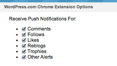 Chrome 拡張プッシュ通知設定